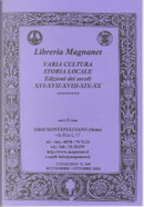 Libreria Magnanet: catalogo n. 269, settembre-ottobre 2020