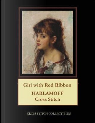 Girl with Red Ribbon by Cross Stitch Collectibles