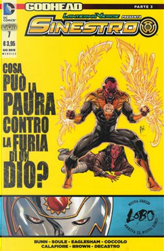 Lanterna Verde presenta: Sinestro n. 7 by Charles Soule, Cullen Bunn