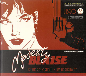 Modesty Blaise 2 by Jim Holdaway, Peter O'Donnell