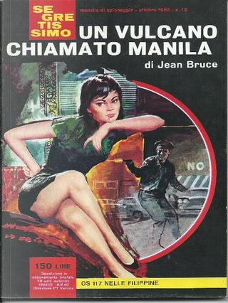 Un vulcano chiamato Manila by Jean Bruce