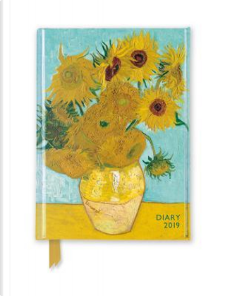Van Gogh - Sunflowers 2019 Pocket Diary by Flame Tree