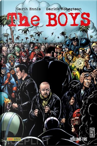 The Boys Deluxe vol. 3 by Garth Ennis