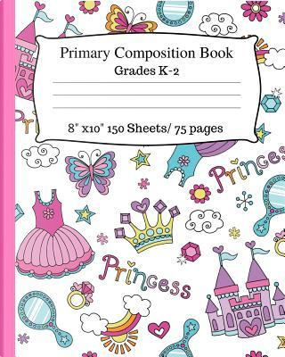 Primary Composition Book by Jaz Kiddies Books