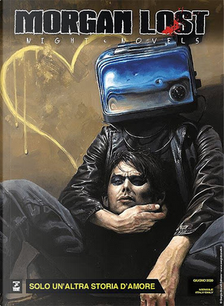 Morgan Lost - Night Novels n. 7 by Claudio Chiaverotti