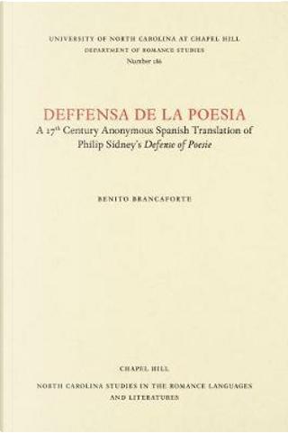 Deffensa De La Poesia by Benito Brancaforte