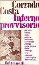Inferno provvisorio by Corrado Costa