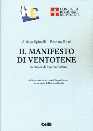 Il manifesto di Ventotene by Altiero Spinelli, Ernesto Rossi
