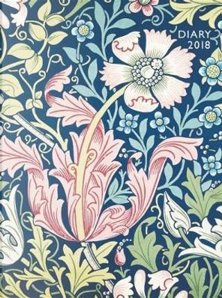 William Morris - Compton 2018 Pocket Diary by Flame Tree Studios