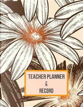 Teacher Planner & Record by Crafty Notebooks & Journals