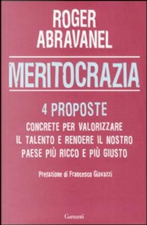 Meritocrazia by Roger Abravanel