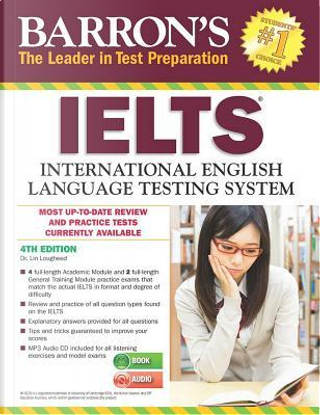 IELTS with MP3 CD 4th Edition by Barron's