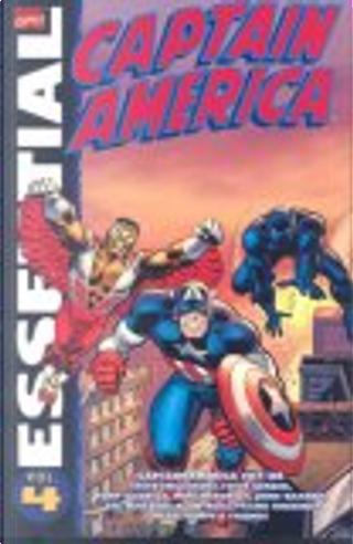 Essential Captain America, Vol. 4 by Alan WEISS, Frank Robbins, Herb Trimpe, John Warner, Mike Friedrich, Sal Buscema, Steve Englehart, Steve Gerber, Tony Isabella