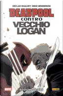 Deadpool contro Vecchio Logan by Declan Shalvey