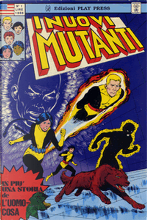 I Nuovi Mutanti n. 1 by Steve Gerber, Chris Claremont