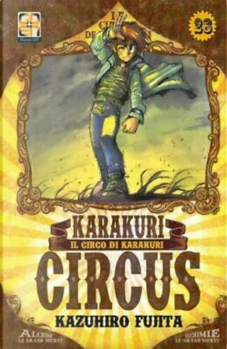 Karakuri circus vol. 28 by Kazuhiro Fujita