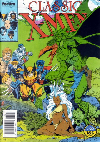 Classic X-Men #20 by Mary Jo Duffy, Chris Claremont