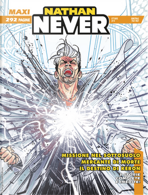 Maxi Nathan Never n. 16 by Antonio Zamberletti, Davide Rigamonti, Diego Cajelli, Giovanni Gualdoni