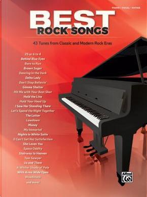 Best Rock Songs by Alfred Publishing