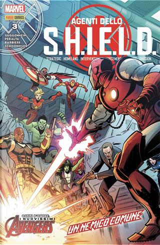 Agenti dello S.H.I.E.L.D. vol. 3 by Chelsea Cain, Frank Barbiere, Marc Guggenheim