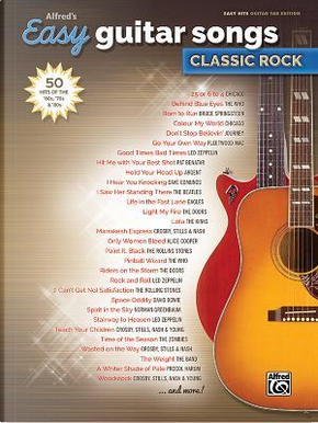 Alfred's Easy Guitar Songs - Classic Rock by Alfred Publishing