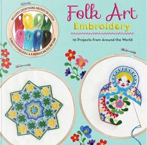 Folk Art Embroidery by Carina Envoldsen-Harris