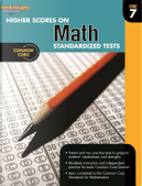 Higher Scores on Math Standard Test Workbook, Grade 7 by Steck-Vaughn