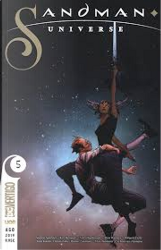 Sandman universe vol. 5 by Simon Spurrier, Nalo Hopkinson, Kat Howard, Dan Watters