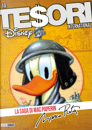 Tesori international n. 10 by David Gerstein, Gaudenzio Capelli, Marco Rota, Paul Halas
