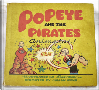 Popeye and the Pirates by Bud Sagendorf, Julian Wehr