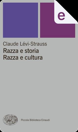 Razza e storia by Claude Lévi-Strauss, Marcello Massenzio
