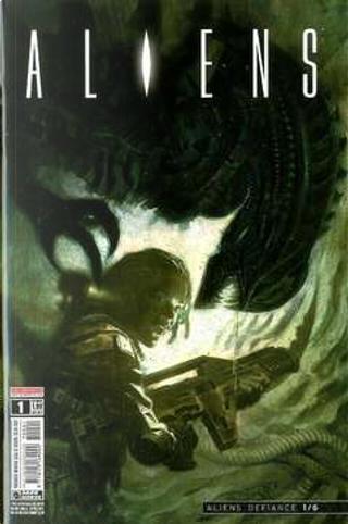 Aliens #1 by Brian Wood
