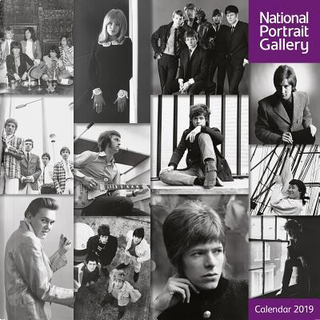 National Portrait Gallery - 60s Rock Icons 2019 Calendar by Flame Tree