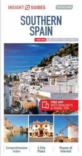 Insight Travel Map Southern Spain by Insight Guides