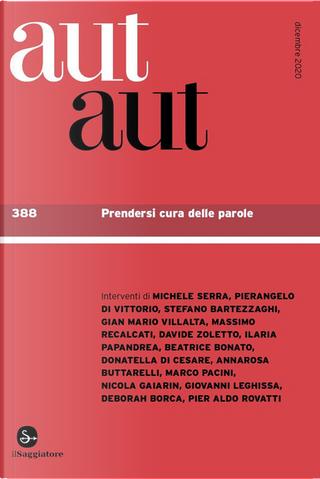 Aut aut n.388 by AA. VV.