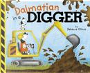 Dalmatian in a Digger by Rebecca Elliott