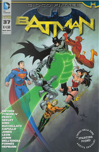 Batman #37 by Benjamin Percy, Brian Buccellato, James Tynion IV, Scott Snyder, Tim Seeley, Tom King