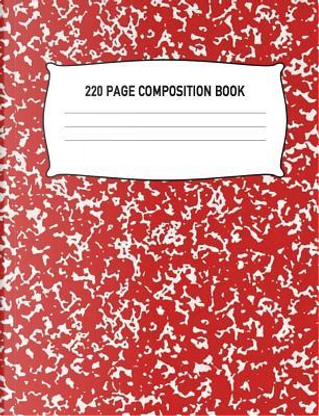 220 Page Composition Book by Aguilar Publications