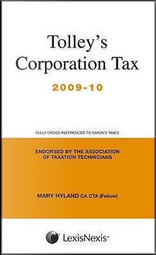 Tolley's Corporation Tax by Mary Hyland