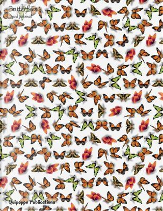 Butterflies Lined Journal by Quipoppe Publications
