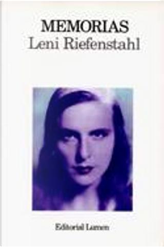 Memorias by Leni Riefenstahl
