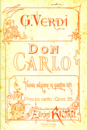 Don Carlo by Camille Du Locle, Joseph Méry
