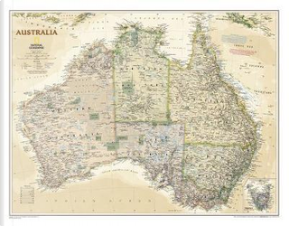Australia Executive by National Geographic Maps