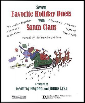 Favorite Holiday Duets With Santa Claus by Geoffrey Haydon