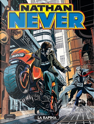 Nathan Never n. 287 by Stefano Piani