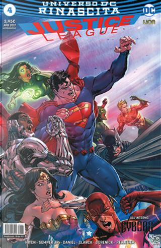 Justice League #4 by Bryan Hitch, John Semper Jr.