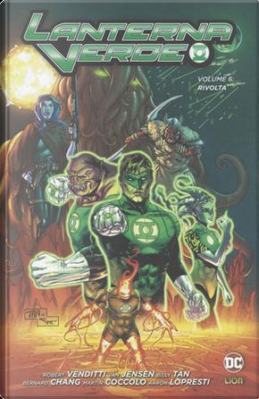 Lanterna Verde vol. 6 by Robert Venditti, Van Jensen