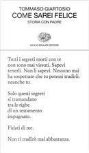 Come sarei felice by Tommaso Giartosio