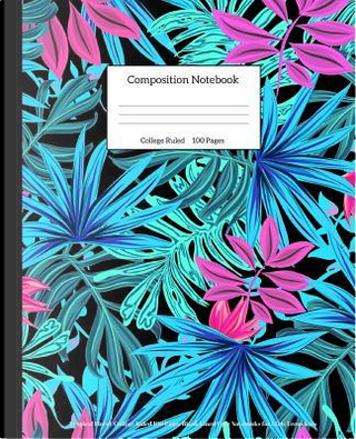 Composition Notebook by Light Feather Journals