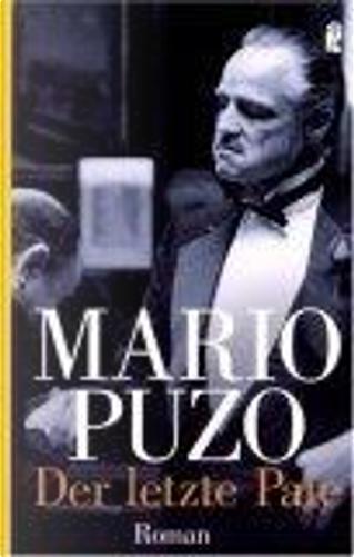 Der letzte Pate. by Mario Puzo